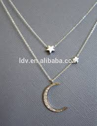 necklace moon gold images Upside down moon sailor moon gold pendant crescent moon choker jpg