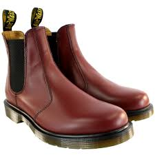 womens steel toe boots size 12 mens dr martens 2976 chelsea style leather ankle high boot
