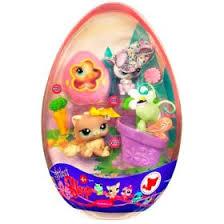 littlest pet shop easter eggs hasbro littlest petshop easter egg rabbit kitten duck and