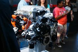 hellcat engine block 2015 dodge charger srt hellcat revealed in detroit