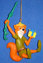 grolier disney robin magic ornament new grolier