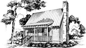 log cabin drawings cabins cottages under 1 000 square feet southern living
