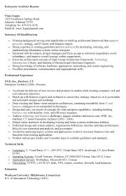 Enterprise Architect Resume Sample by Enterprise Architect Resume Free Resume Templates