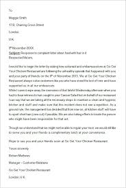 Complaints Letter To Hospital sle reply complaint letter for bad service