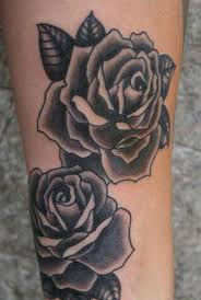 england rose tattoo for women design idea for men and women