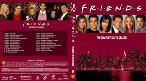 friends season 06 2 disc set by morsoth on deviantart
