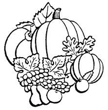 fall color page thanksgiving harvest coloring pages coloring page