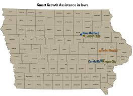 Iowa Map Usa by Smart Growth Technical Assistance In Iowa Smart Growth Us Epa
