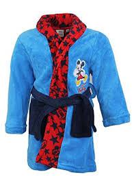 robe de chambre amazon disney robe de chambre garçon mickey bleue 3 ans amazon fr