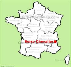 New York On Map Serre Chevalier Location On The France Map
