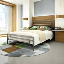 Metal Bedroom Furniture Riser Bed Frame Bedroom Furniture Contemporary Metal Bed
