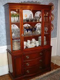 China Cabinet And Dining Room Set Decoration Ideas Duncan Phyfe 1940s 9 Mahogany Dining Room