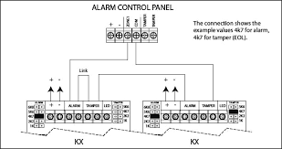wire pir motion detector to wired alarm system product news