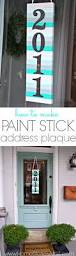 fun and easy diy paint stick ideas to spice up your home decor
