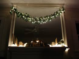 simple design rustic blue and silver ceiling christmas