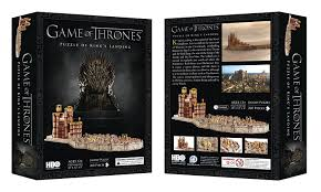 Map Of Kings Landing Amazon Com 4d Cityscape Game Of Thrones 3d Kings Landing Puzzle