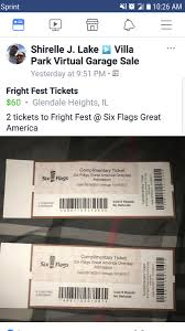 Six Flag Fright Fest Tickets Six Flags On Twitter