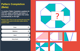 pattern practice games online game to practice pattern completion questions for nnat 2