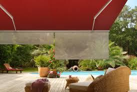 voile d ombrage enroulable le store enrouleur adapté au store banne idéal pour soleil rasant