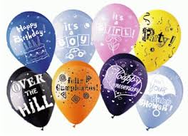 personalized balloons personalized imprinted balloons