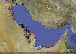 Gulf Countries In World Map by Google Earth Helps Reveal Untold Fish Catches In Persian Gulf