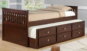 Pictures Of Trundle Beds Donco Kids Captain Bed With Trundle U0026 Reviews Wayfair