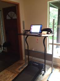 Standing Treadmill Desk by Lori Culwell Is Making Observations My Summer Standing Desk