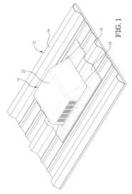 Types Of Roof Vents Pictures by Patent Us20120073239 Flexible Based Roof Vent For Metal Roofing