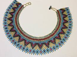 beaded collar necklace images Beautiful hand beaded collar necklace this necklace resembles a jpg