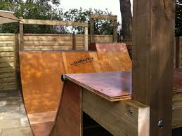 Backyard Skateboard Ramps Skateboard And Scooter Ramps Half Pipes Quater Pipes