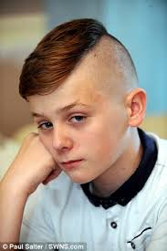 hair styles for 11 year oldboys plymouth boy is banned from school playground for having shaved