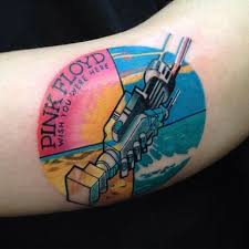 tattoos only a true pink floyd fan will to design
