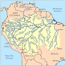 america map of rivers amazônia viva international rivers
