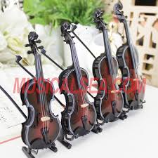 miniature black violin miniature musical instruments gift are