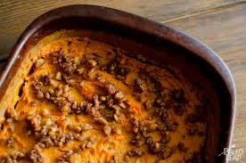sweet potato casserole paleo leap