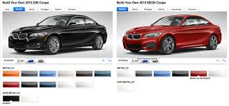why does bmw limit the color options on the m235