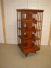 Danner Revolving Bookcase Cherry Danner Revolving Bookcase From Rayspassion On Ruby Lane