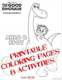 good dinosaur activity sheets coloring pages fairy