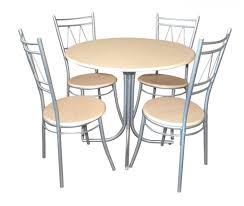 Metal Dining Room Chair Top Stainless Steel Dining Table Set Design Decor And Glass