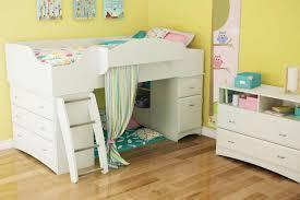 bedroom bedroom furniture simple cream loft bunk bed with pink