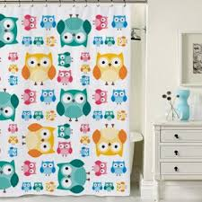 Owl Kitchen Curtains by Amazing Shower Curtains 2017 Owl Shower Curtain Amazon Co Uk