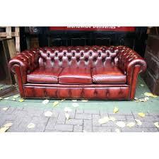 canapé chesterfield ancien canape chesterfield ancien 3str burgundy leather chesterfield