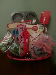 kids baking basket for silent auction auction ideas pinterest