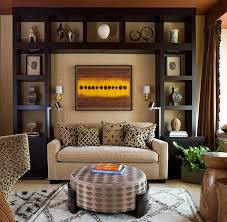 living room displays african inspired interior design ideas