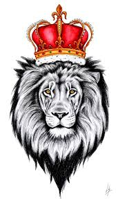 21 best lion with crown tattoo drawings images on pinterest