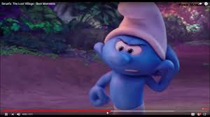 Baby Smurf Meme - clumsy smurf i wanna yell youtube