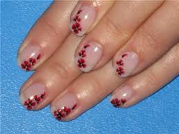 nail art designs for short nails flowers nails pinterest