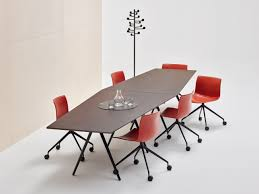 Extendable Meeting Table Modular Meeting Table Meety Meeting Table Arper Table