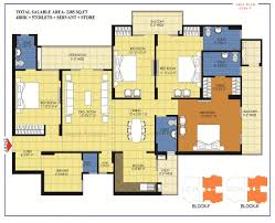 Embassy Floor Plan by Trident Embassy Greater Noida West Residential Project