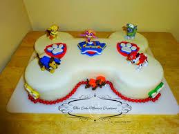 paw patrol cake pan cake ideas
